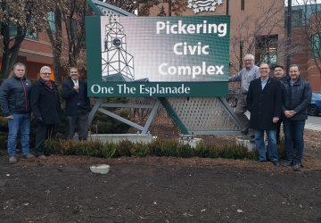 pickering digital billboard