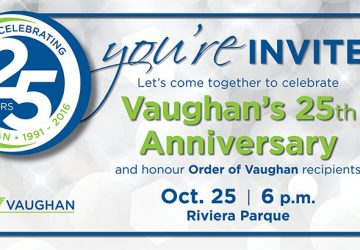 25th anniversary of vaughan