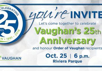 25th anniversary of vaughan